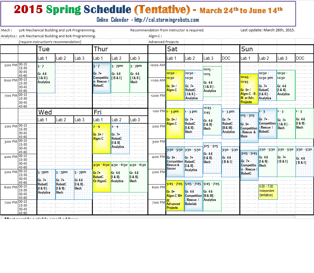 badm 590 spring 2015 schedule Fall 2015 hybrid courses consist of five on-site classes in martin on badm 721 (hybrid) (1 hr) ut martin mba program tentative schedule – spring.