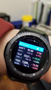 Samsung Gear S3 Frontier Watch – My Messy Desk